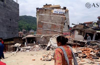 Teremoto Nepal Kathmandu