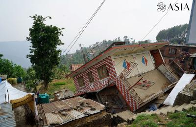Nepal terremoto a Rasuwa