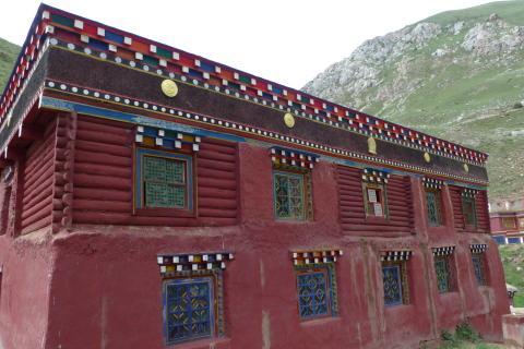 Il Monastero di Dzolung dopo la ristrutturazione
