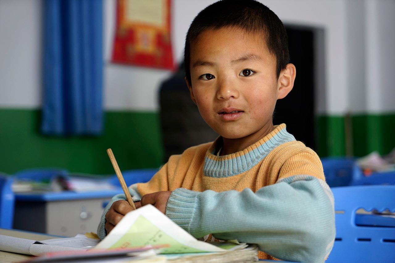 Alunno della scuola di Dongche
