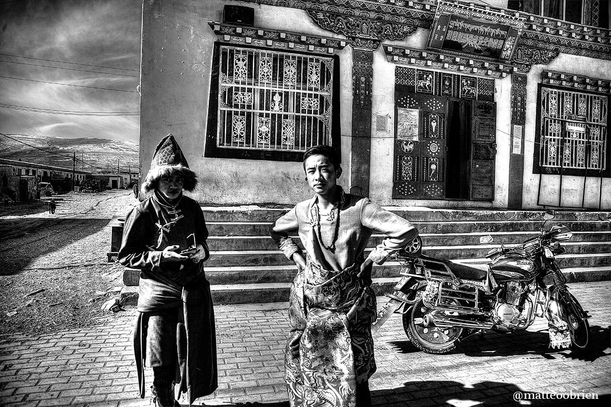 Giovani tibetani