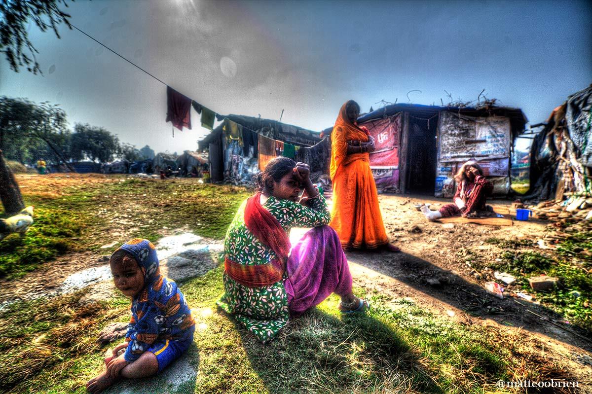 La vita negli slums di Kathmandu