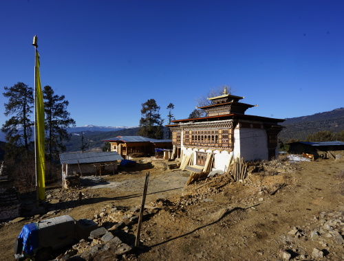 main temple of the monastery